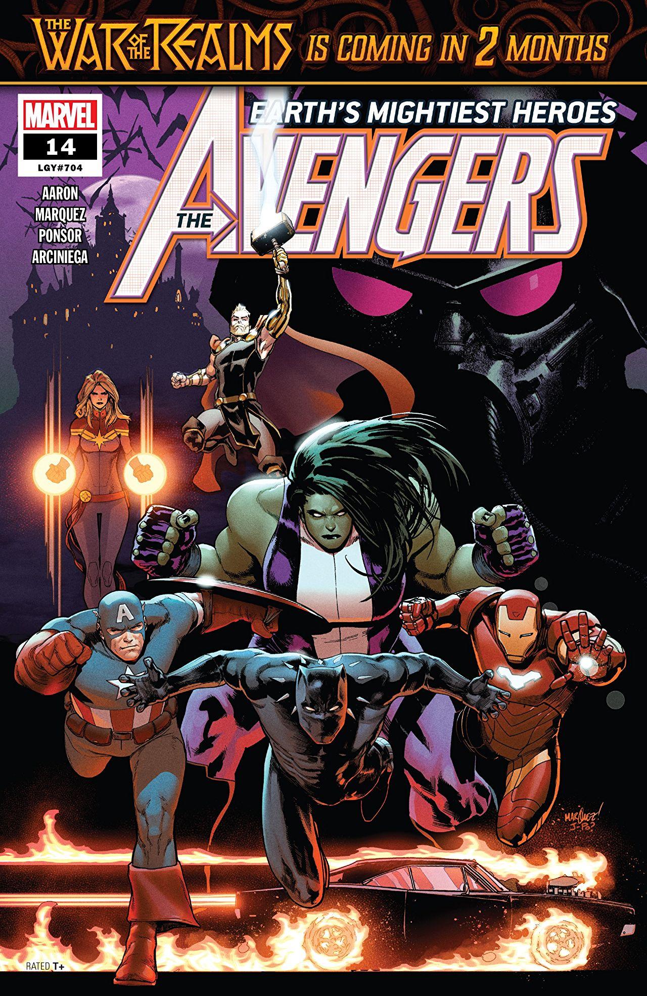Avengers 14 - WAR OF THE VAMPIRES PART 1