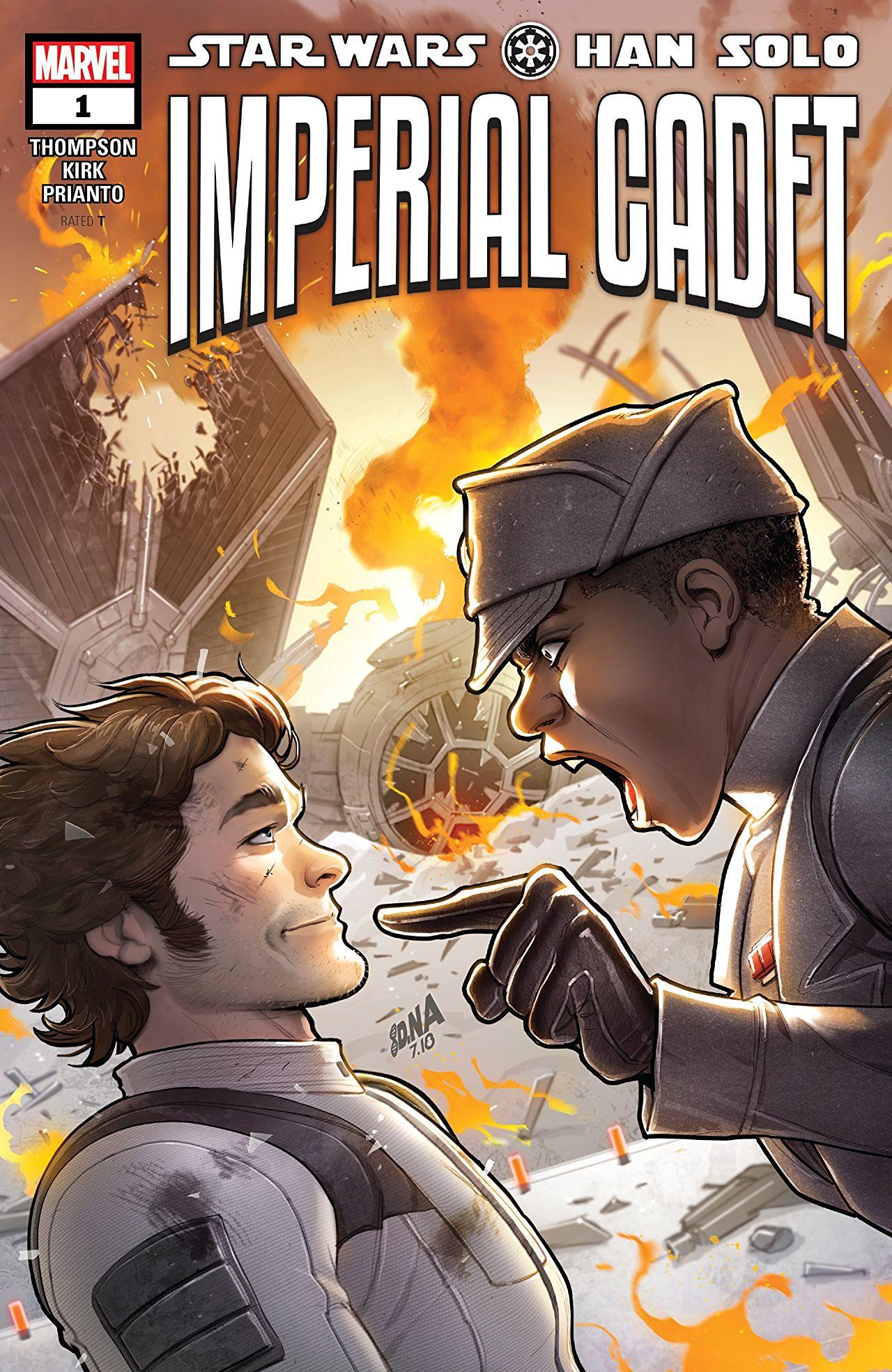 Star Wars - Han Solo - Imperial Cadet 1