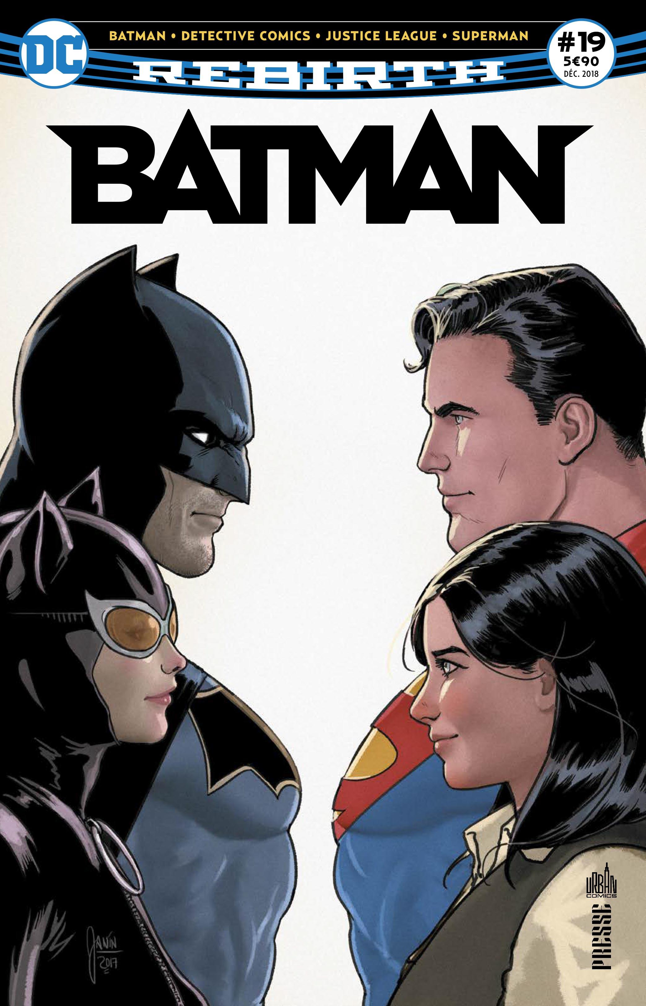 Batman Rebirth 19 - La Chute des Chevalirs de Gotham  !