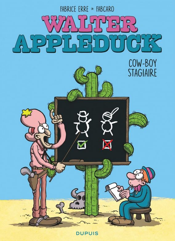 Walter Appleduck 1 - Stagiaire Cowboy