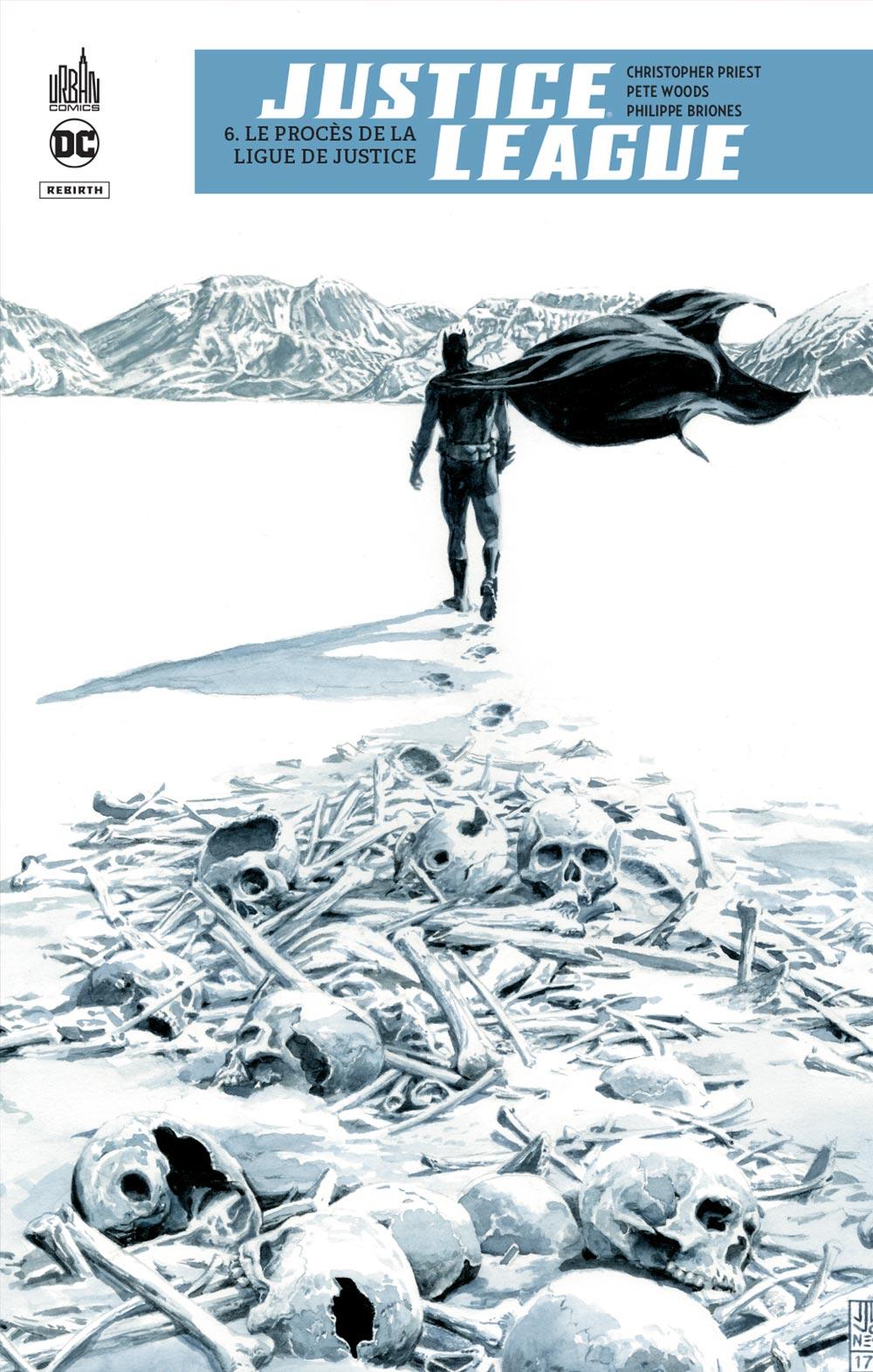 Justice League Rebirth 6 - Le procès de la Ligue de Justice