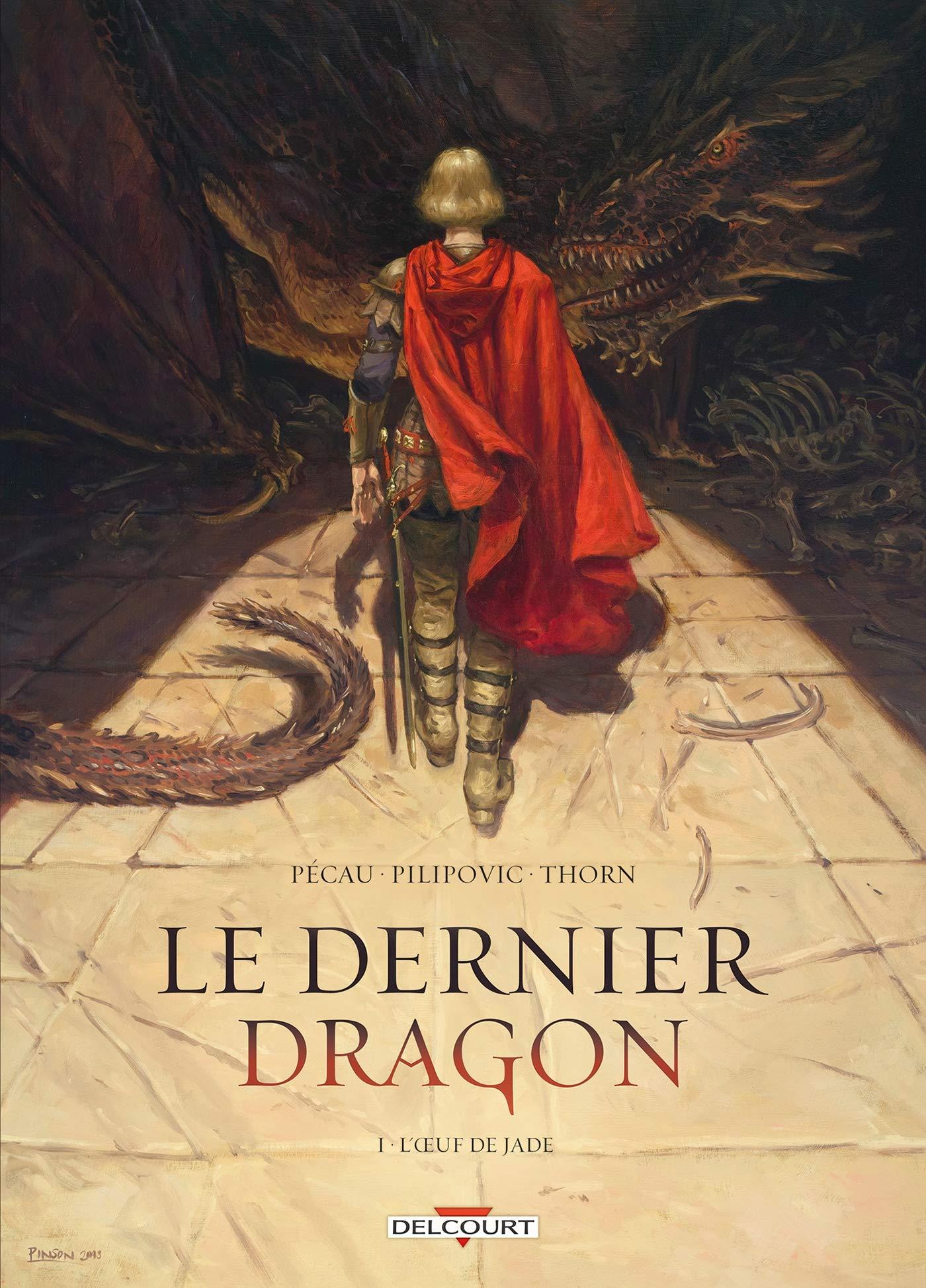 Le dernier dragon 1 - L'oeuf de Jade
