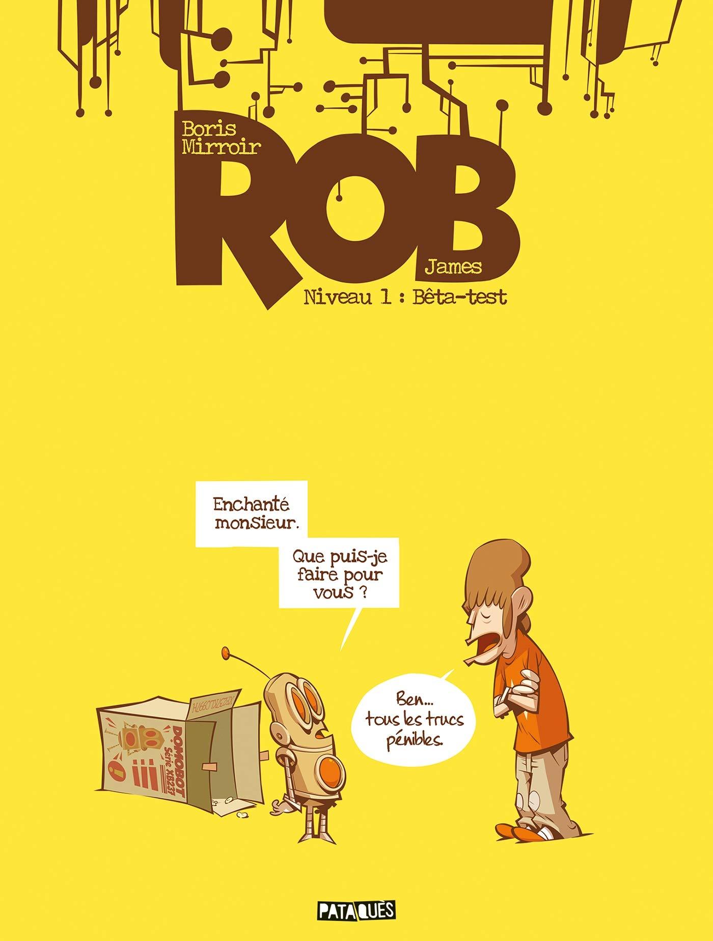 Rob 1 - Niveau 01 - Bêta-test