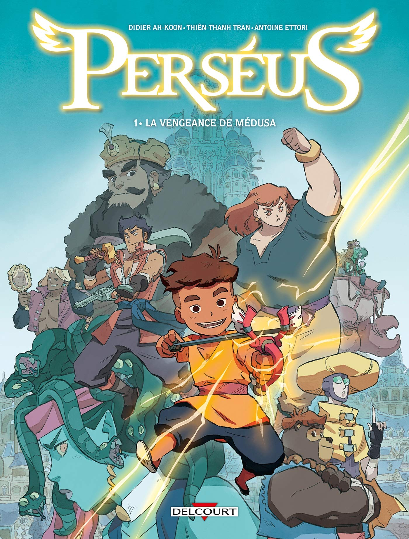 Perséus 1 - La vengeance de Médusa