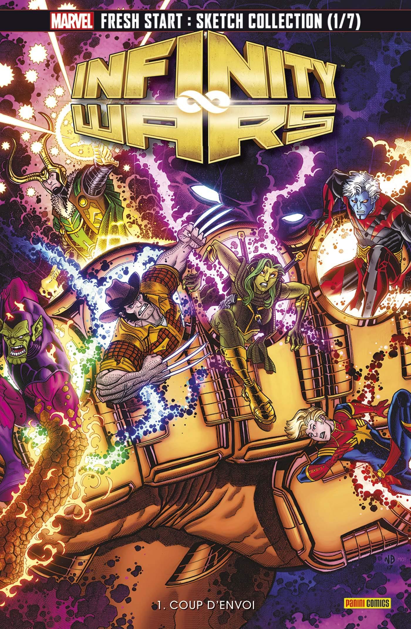 Infinity Wars 1 - Coup d'Envoi