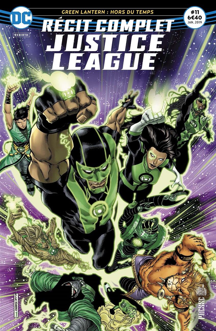 Recit Complet Justice League 11