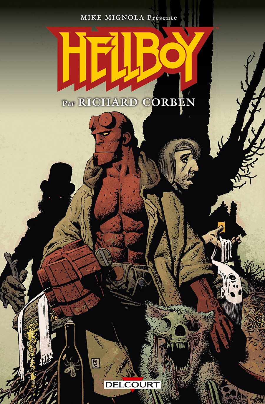 Hellboy par Richard Corben  - Édition Spéciale Richard Corben