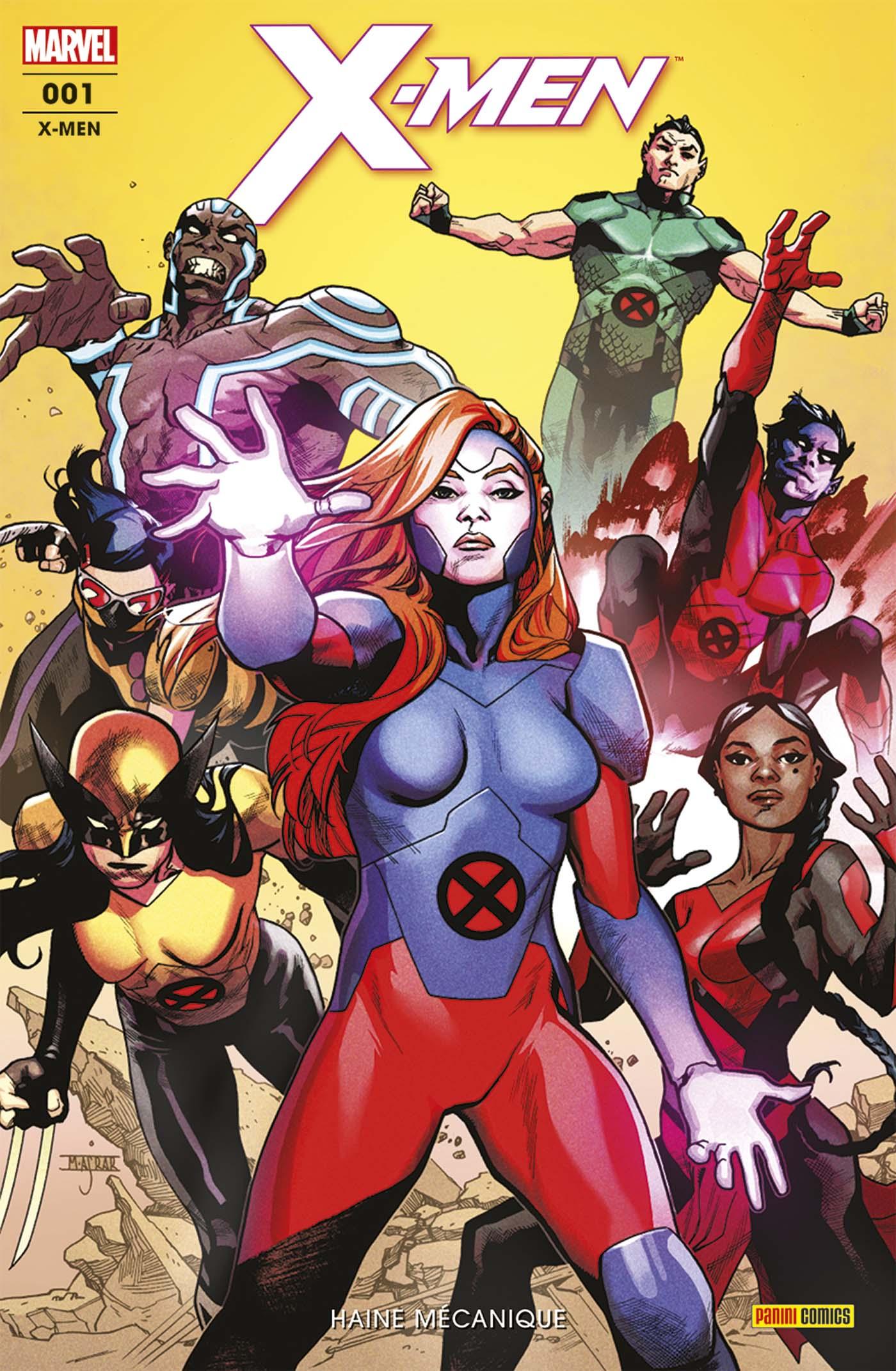 X-Men 1 - Haine Mécanique