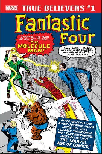 True Believers - Fantastic Four - Molecule Man 1