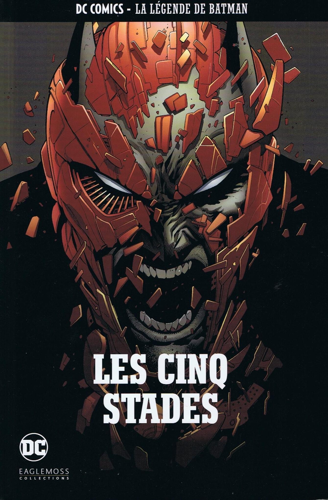 DC Comics - La Légende de Batman 37 - Les cinq stades