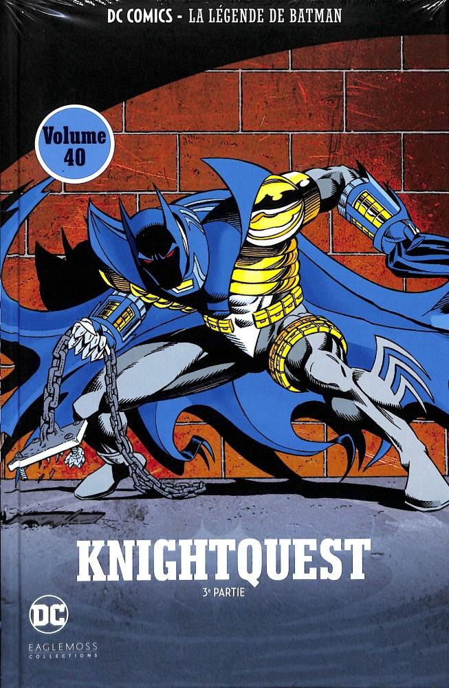 DC Comics - La Légende de Batman 25 - Knightquest - 3e partie
