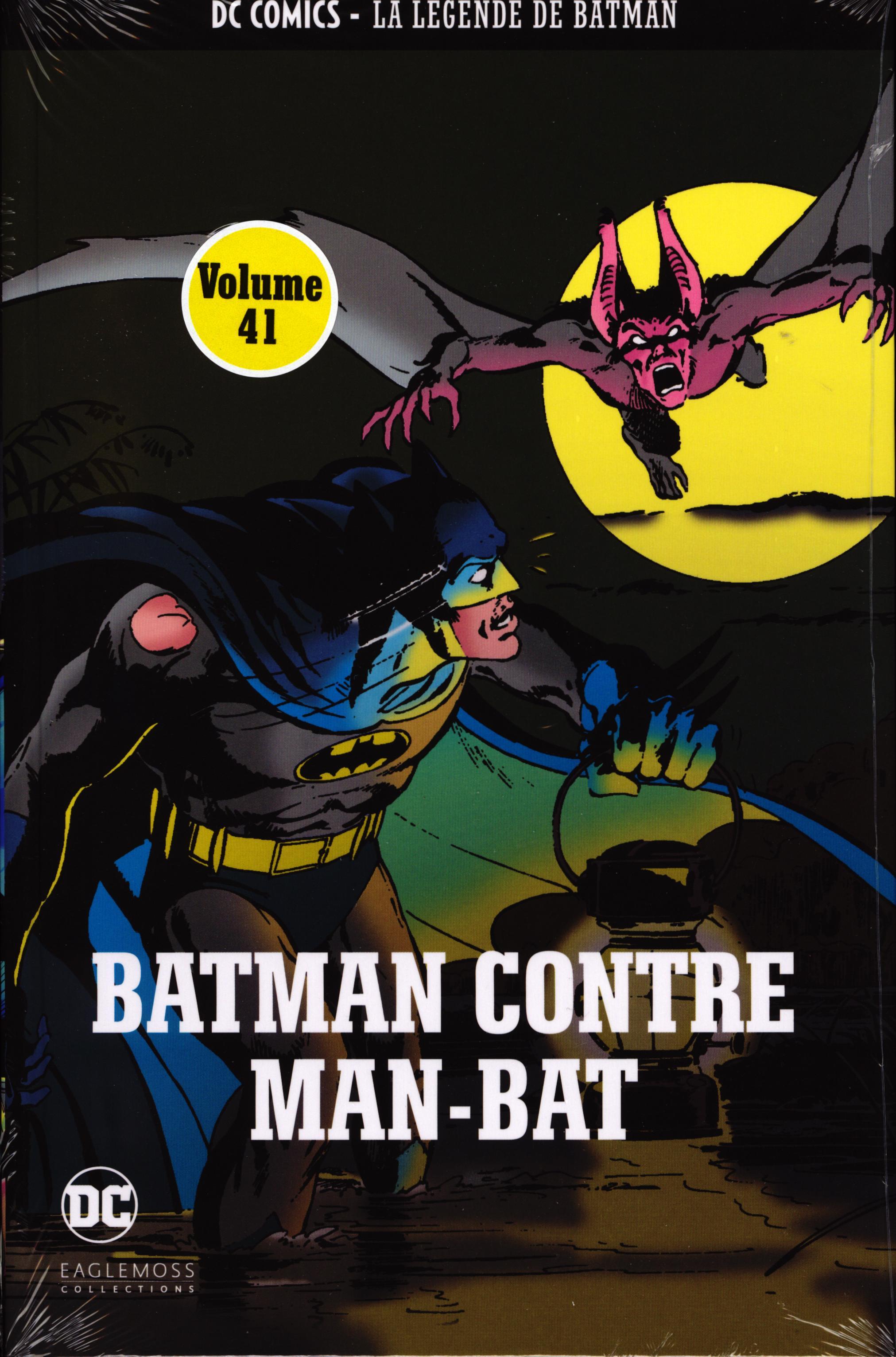 DC Comics - La Légende de Batman 14 - Batman contre Man-Bat