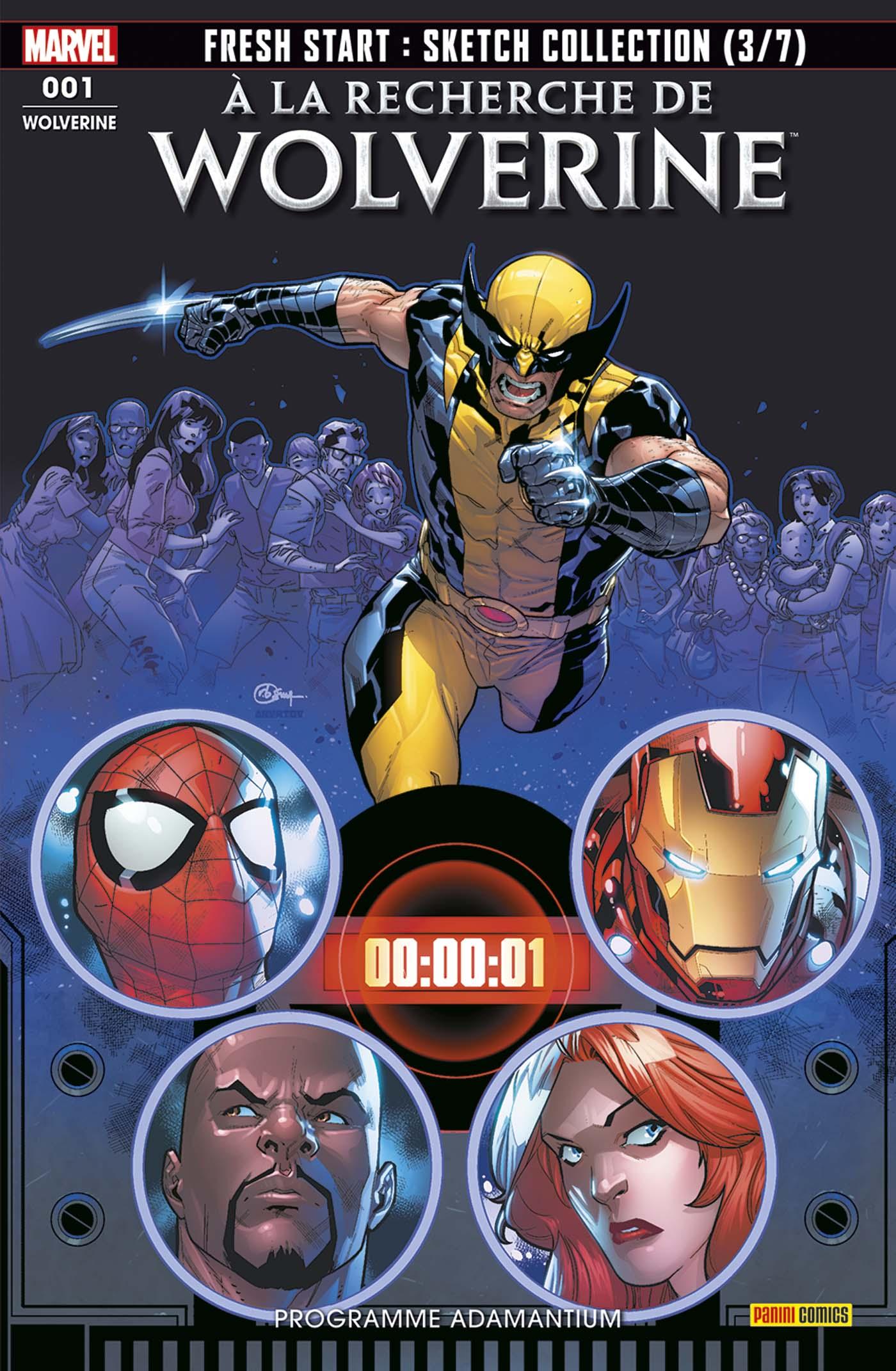 Wolverine 1 - Programme Adamantium