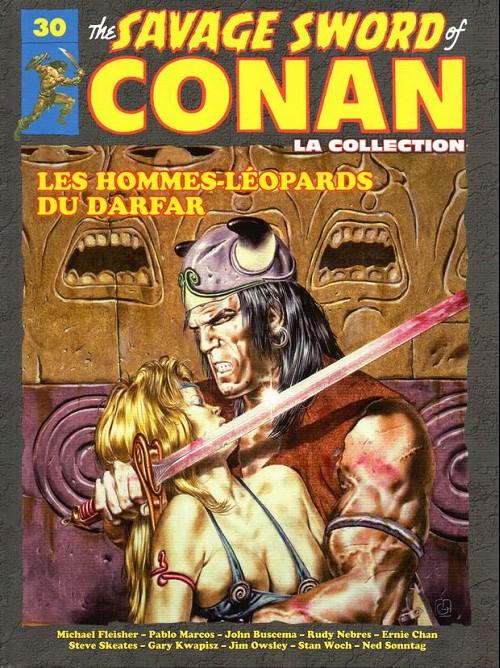 The Savage Sword of Conan 30 - Les hommes-léopards du darfar
