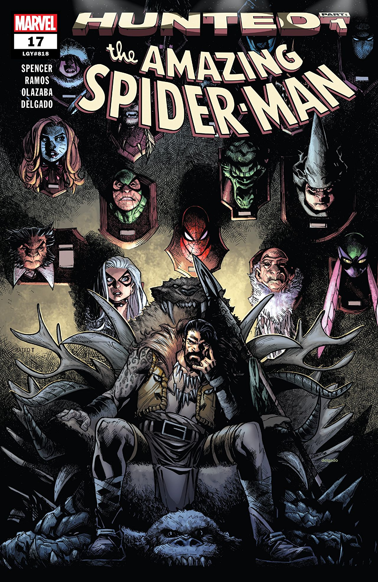 The Amazing Spider-Man 17 - HUNTED PART 1