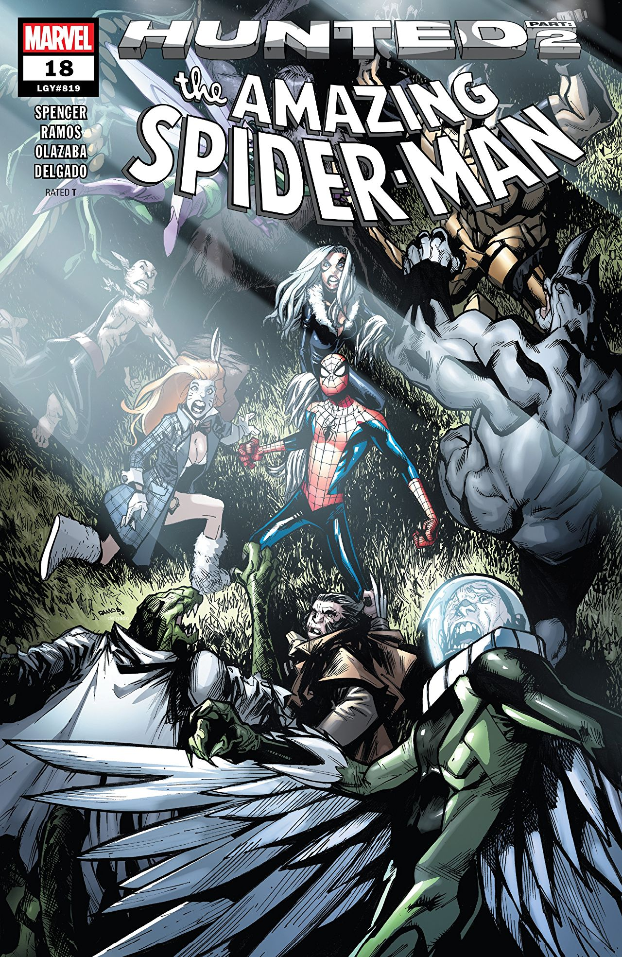 The Amazing Spider-Man 18 - HUNTED PART 2