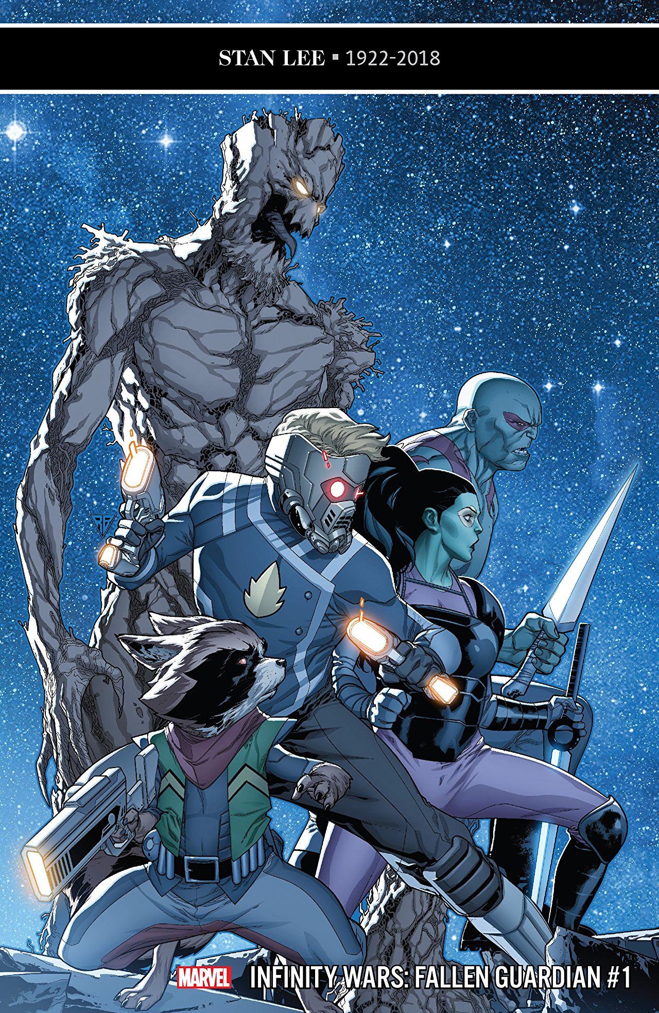 Infinity Wars - Fallen Guardian 1