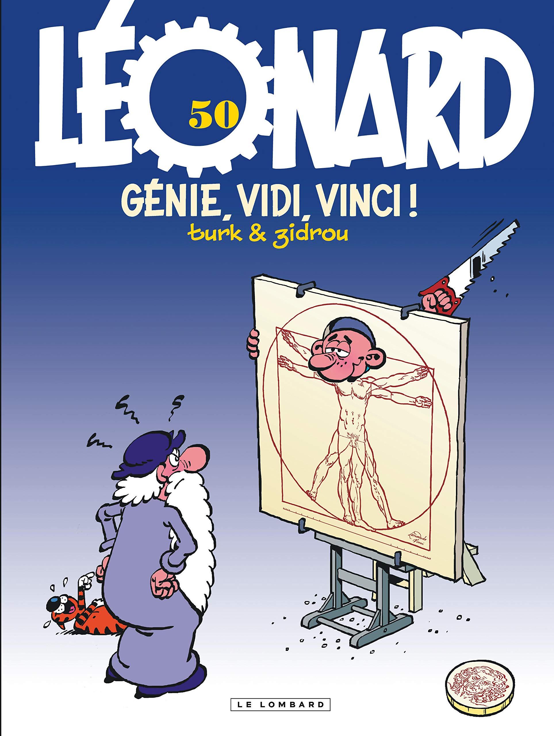 Léonard 50 - Génie, vidi, vici !