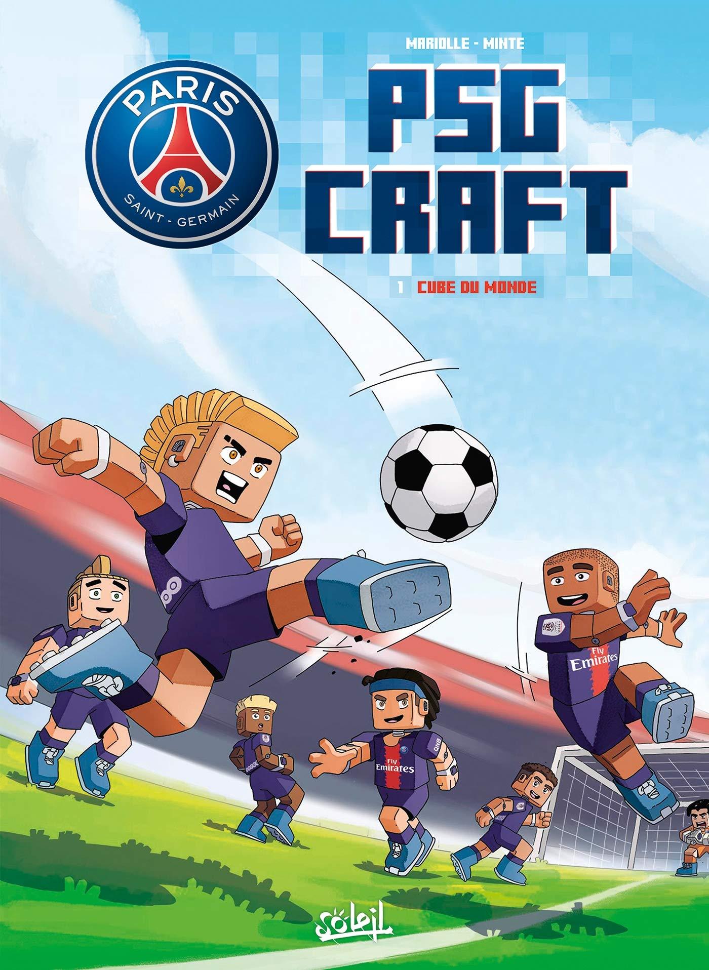 Paris Saint-Germain - PSG Craft 1 - Cube du Monde