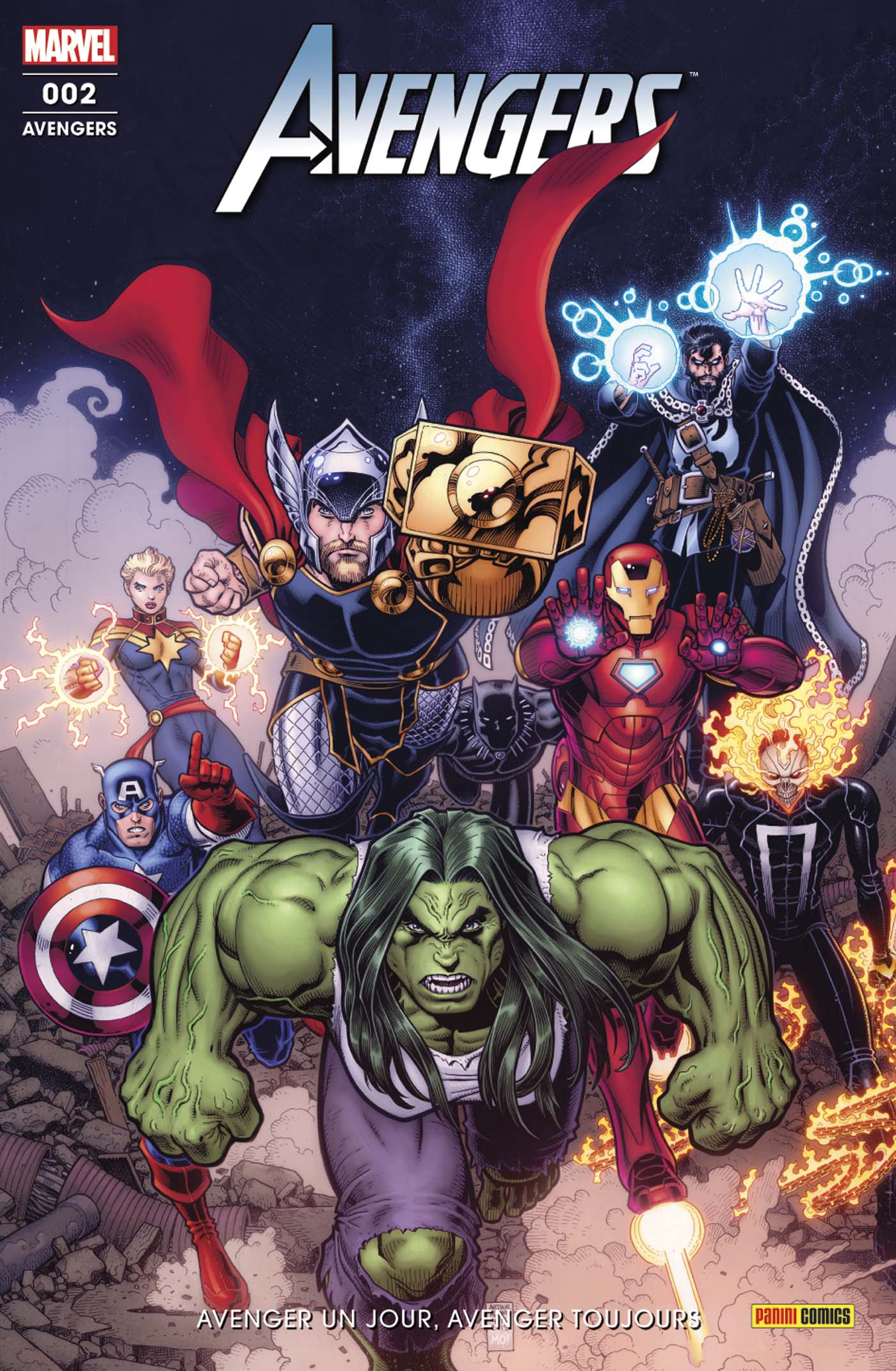 Avengers 2 - Avengers un Jour, Avengers Toujours