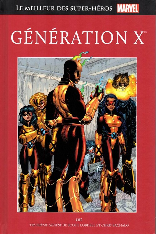 Le Meilleur des Super-Héros Marvel 79 - Génération X