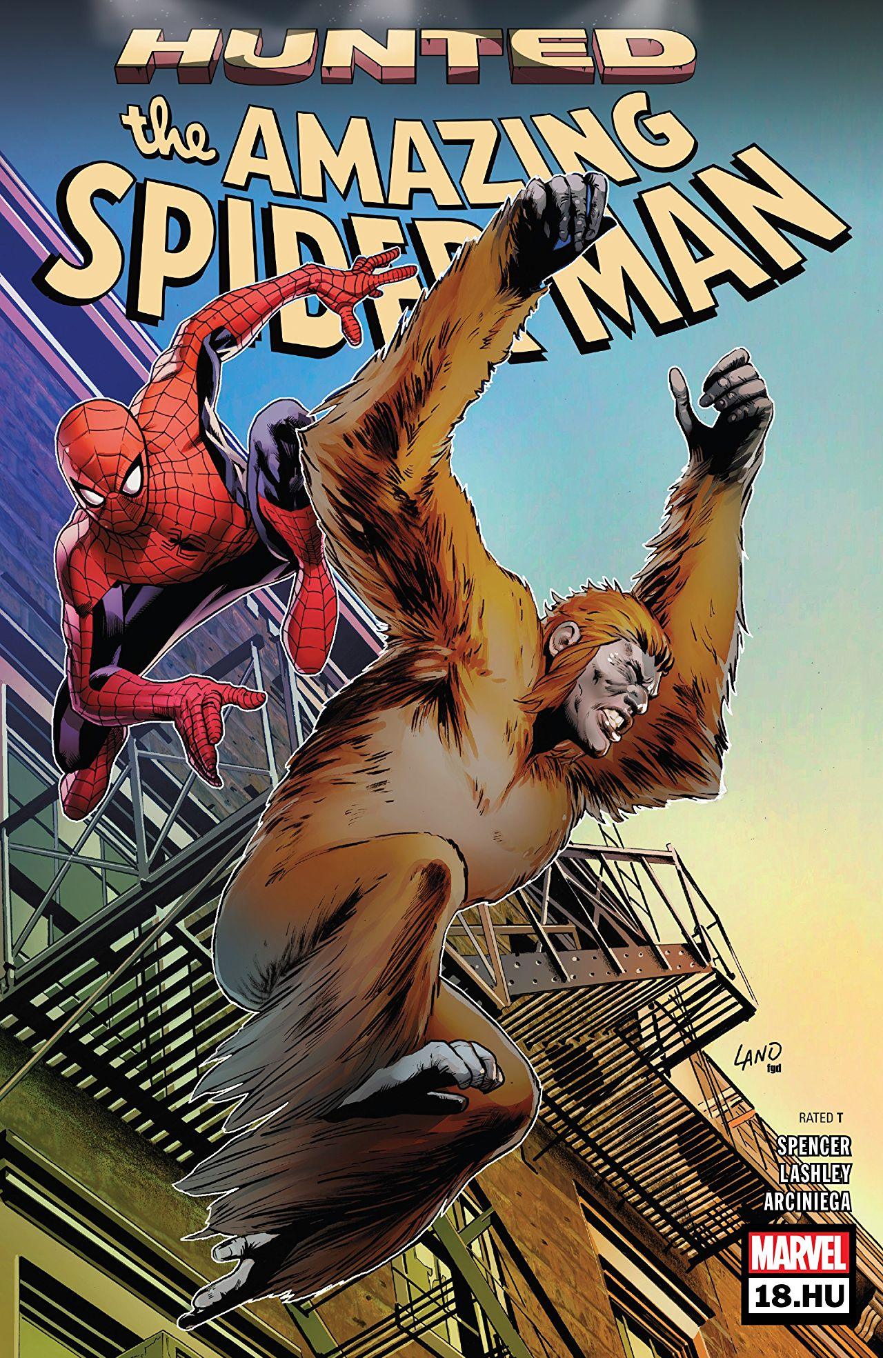 The Amazing Spider-Man 18.1 - Issue #18.HU