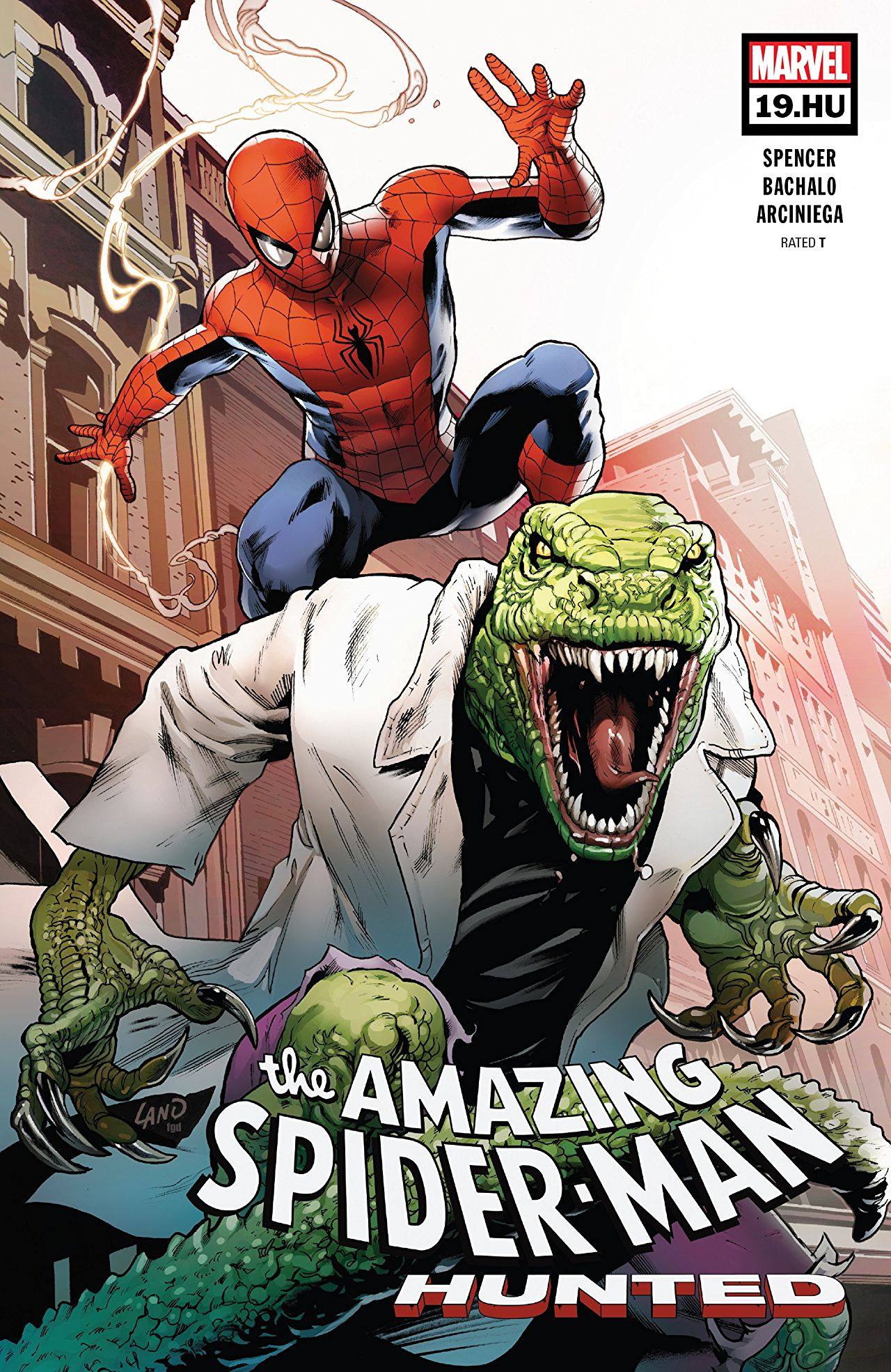 The Amazing Spider-Man 19.1 - Issue #19.HU