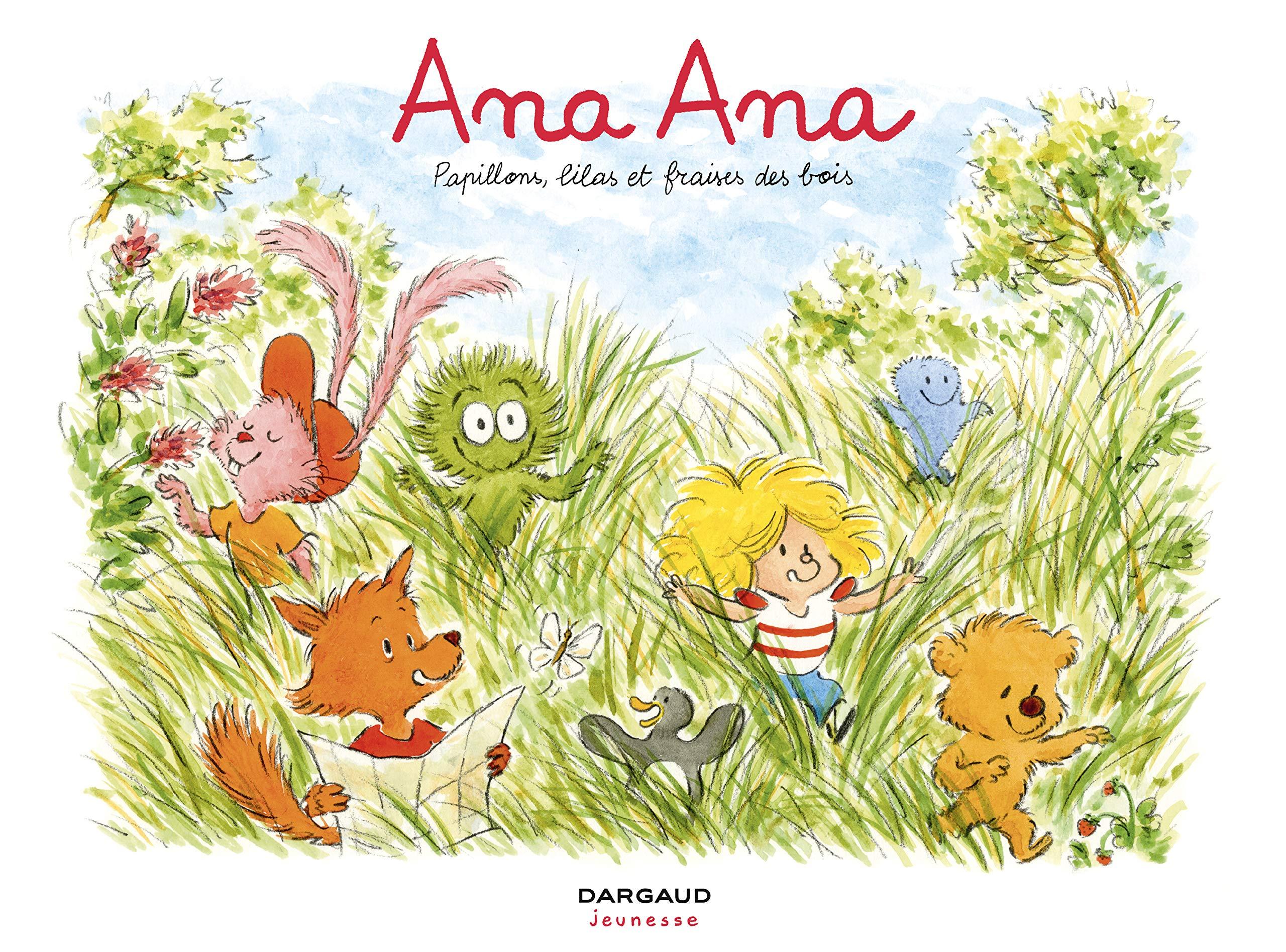 Ana Ana 13 - Papillons, lilas et fraises des bois