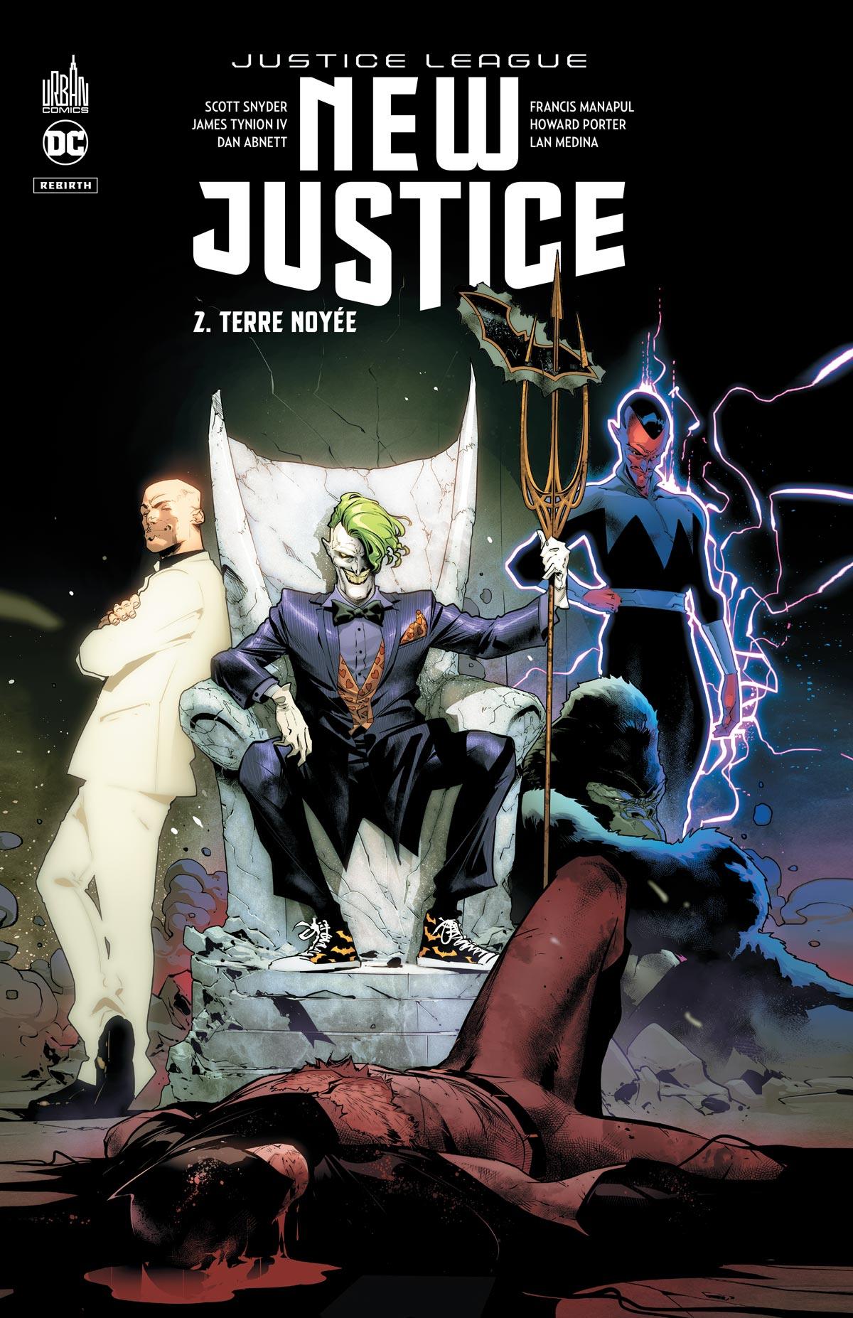 New Justice 2 - Terre noyée