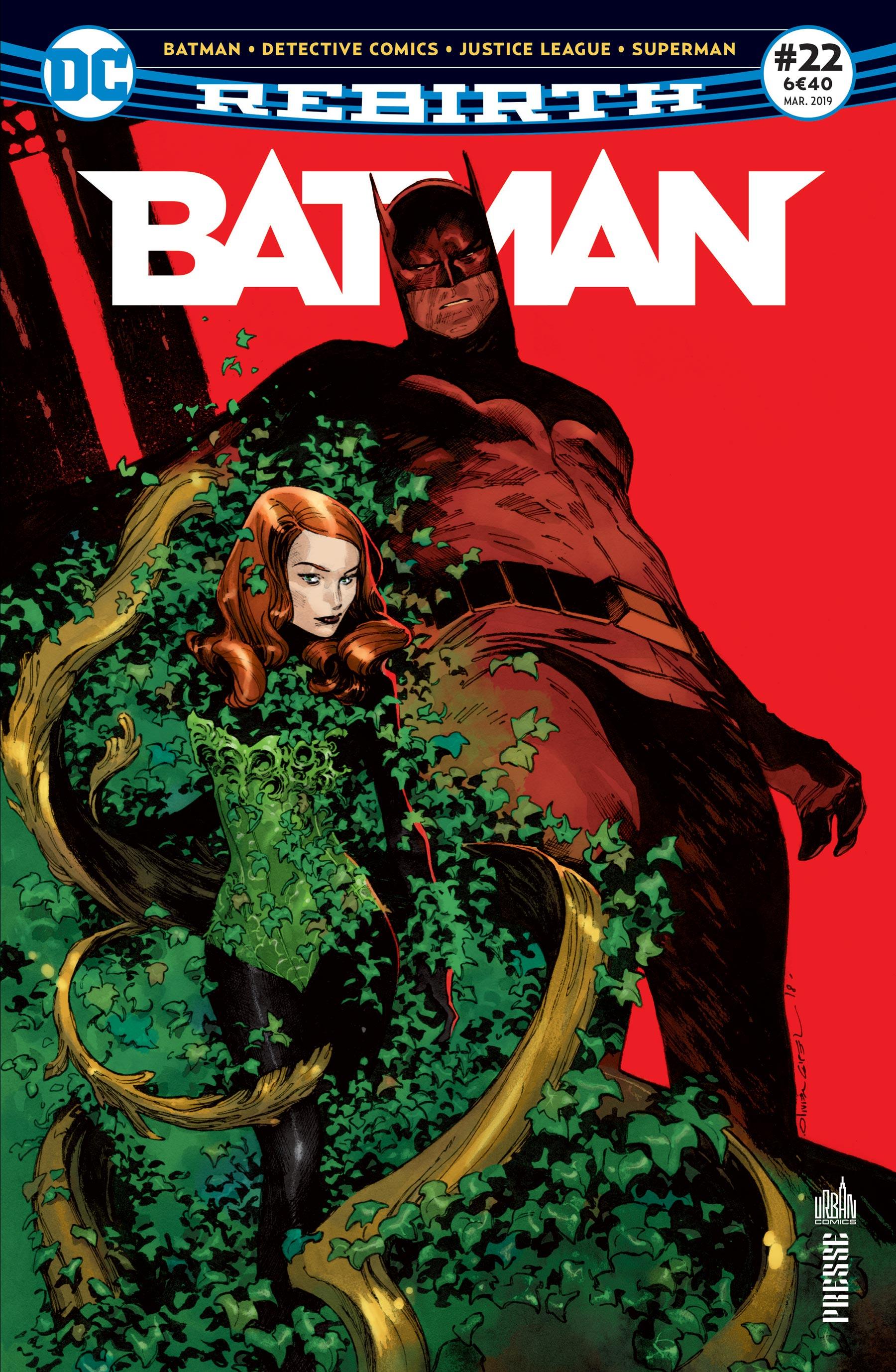 Batman Rebirth 22
