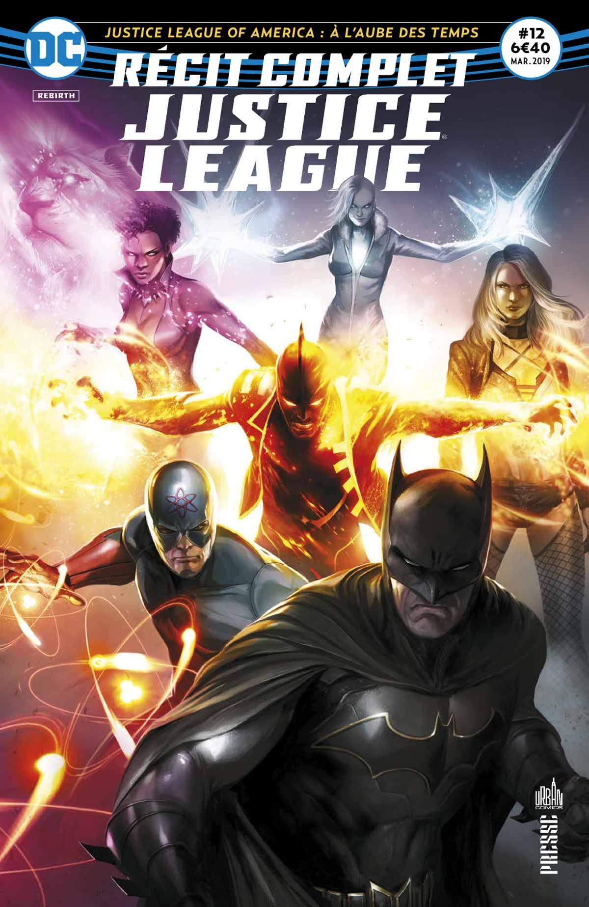 Recit Complet Justice League 12