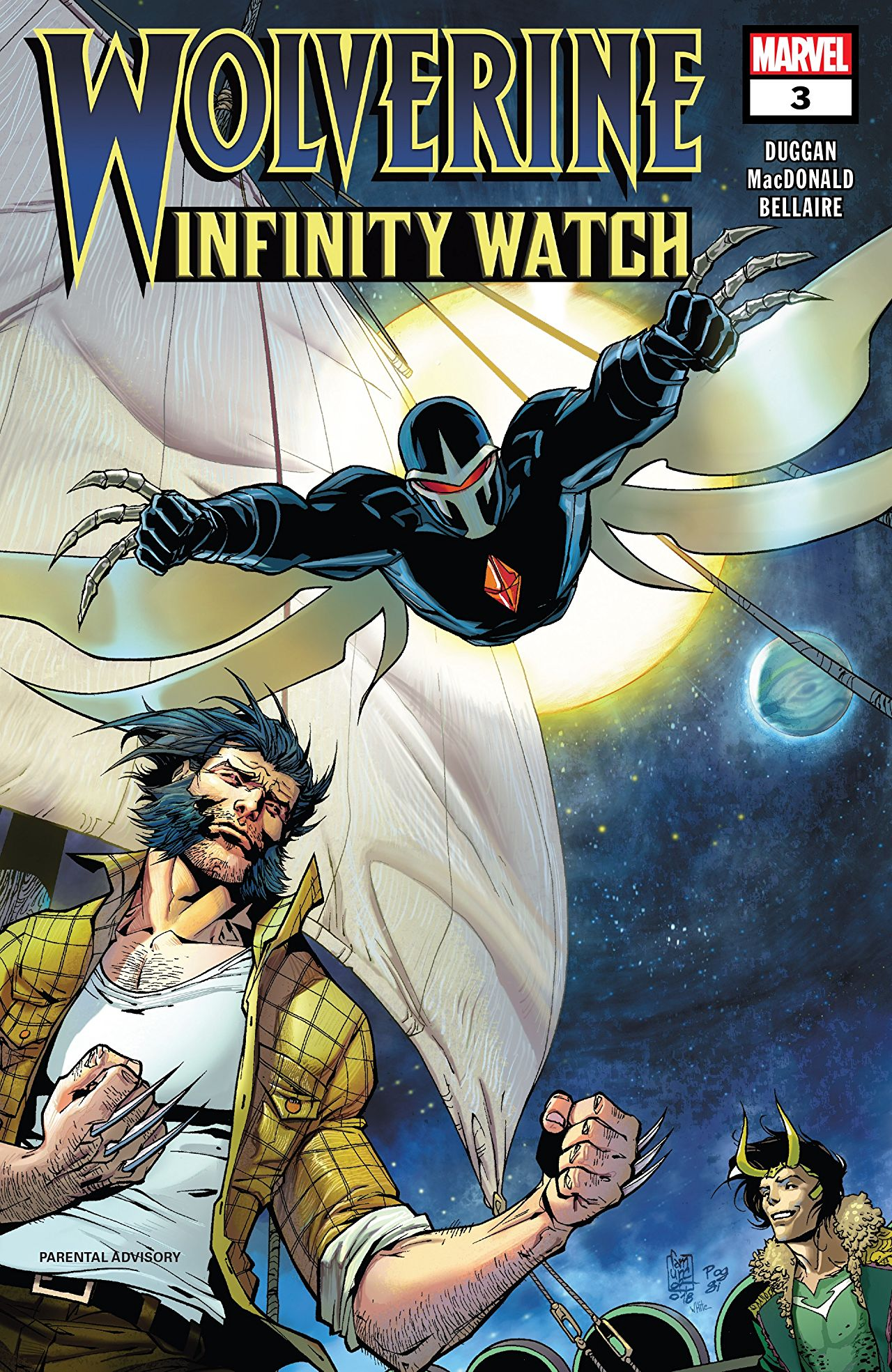 Wolverine - Infinity Watch 3