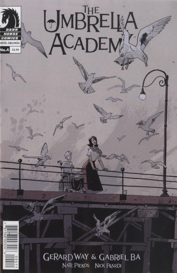 Umbrella Academy 4 - The Labyrinth, Being Part Four of the Seven-Part Series Hotel Oblivion