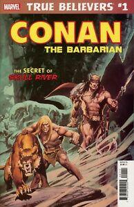 True believers - Conan the barbarian - The secret of skull river 1 - True believers - Conan the barbarian - The secret of skull river