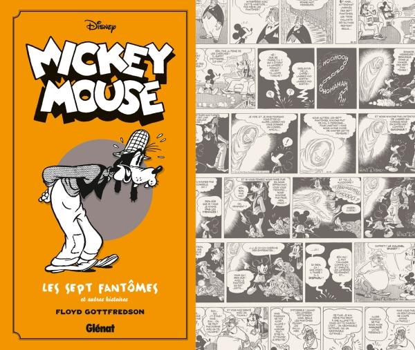 Mickey Mouse par Floyd Gottfredson 4 - 1936/1938 - Mickey et l'île volante et autres histoires