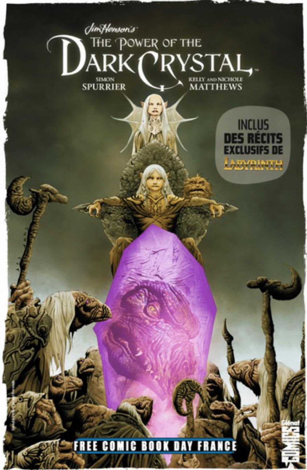 Free Comic Book Day France 2019 – Glénat Comics – Le Pouvoir du Dark Crystal