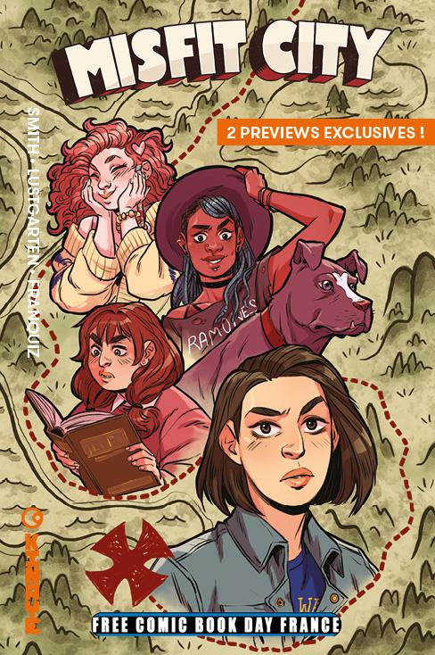 Free Comic Book Day France 2019 - Kinaye - Misfit City / Le Garçon Sorcière