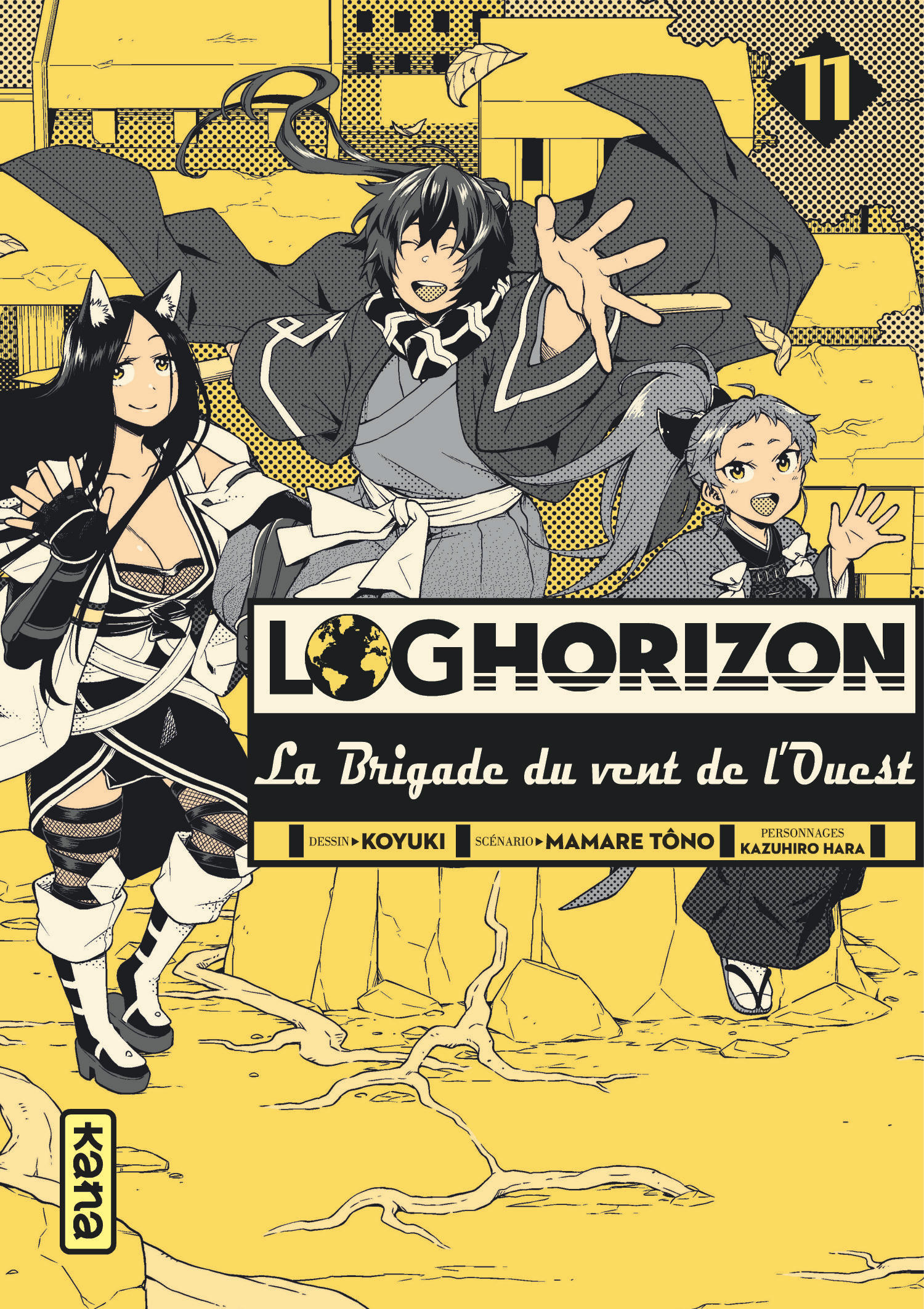 Log Horizon - La brigade du vent de l'Ouest 11