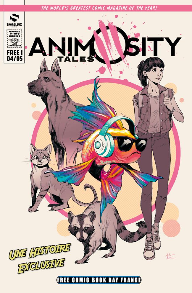 Free Comic Book Day France 2019 - Snorgleux - Animosity Tales
