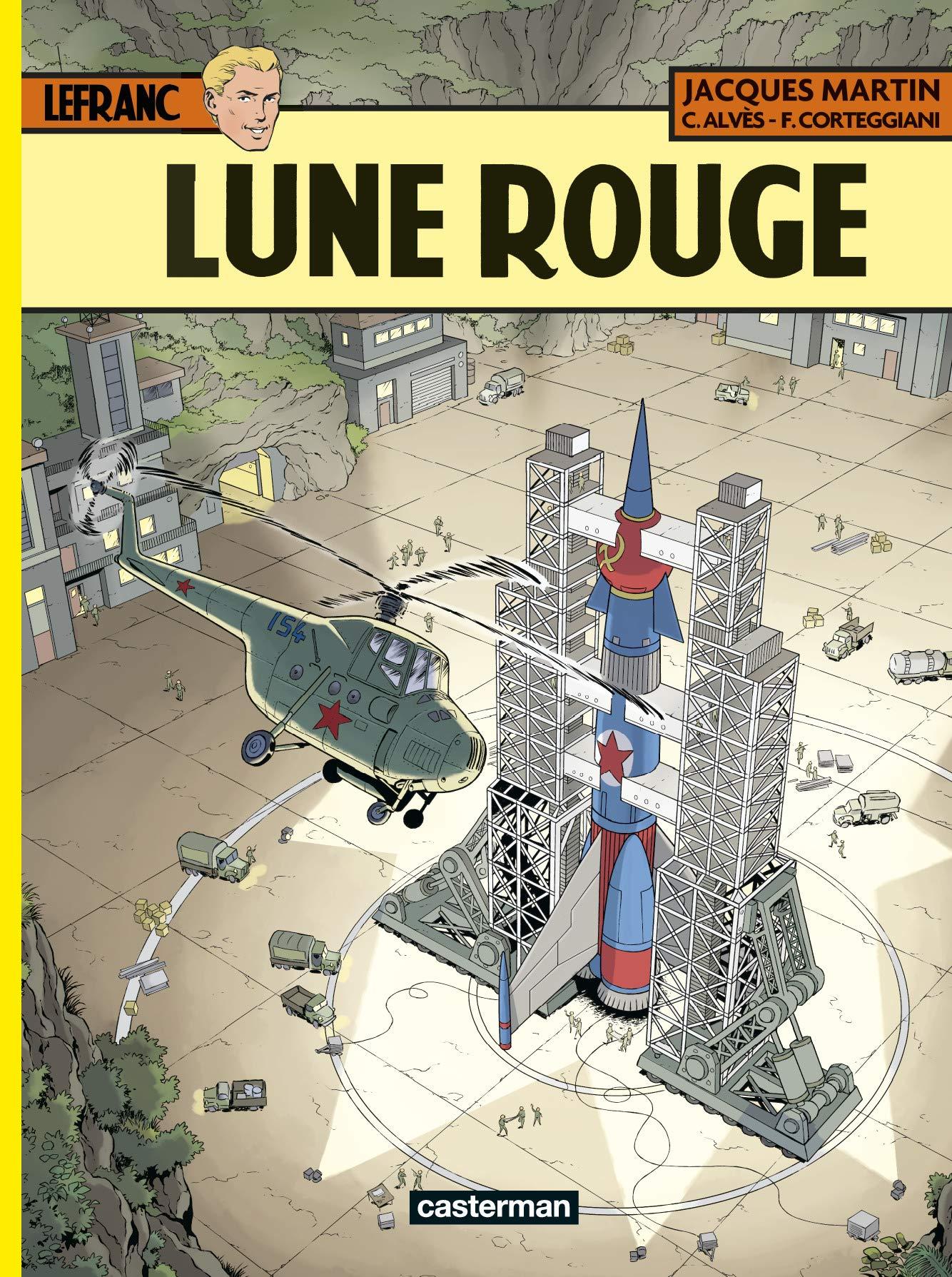 Lefranc 30 - Lune Rouge