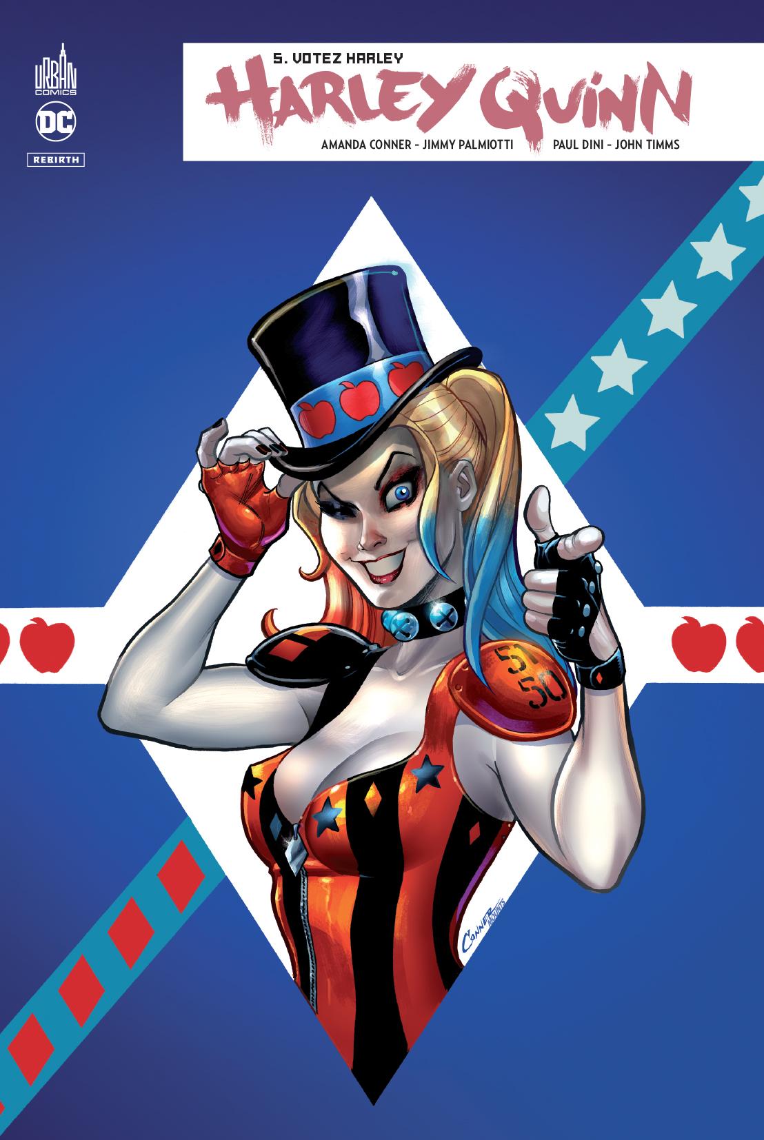 Harley Quinn Rebirth 5 - Votez Harley