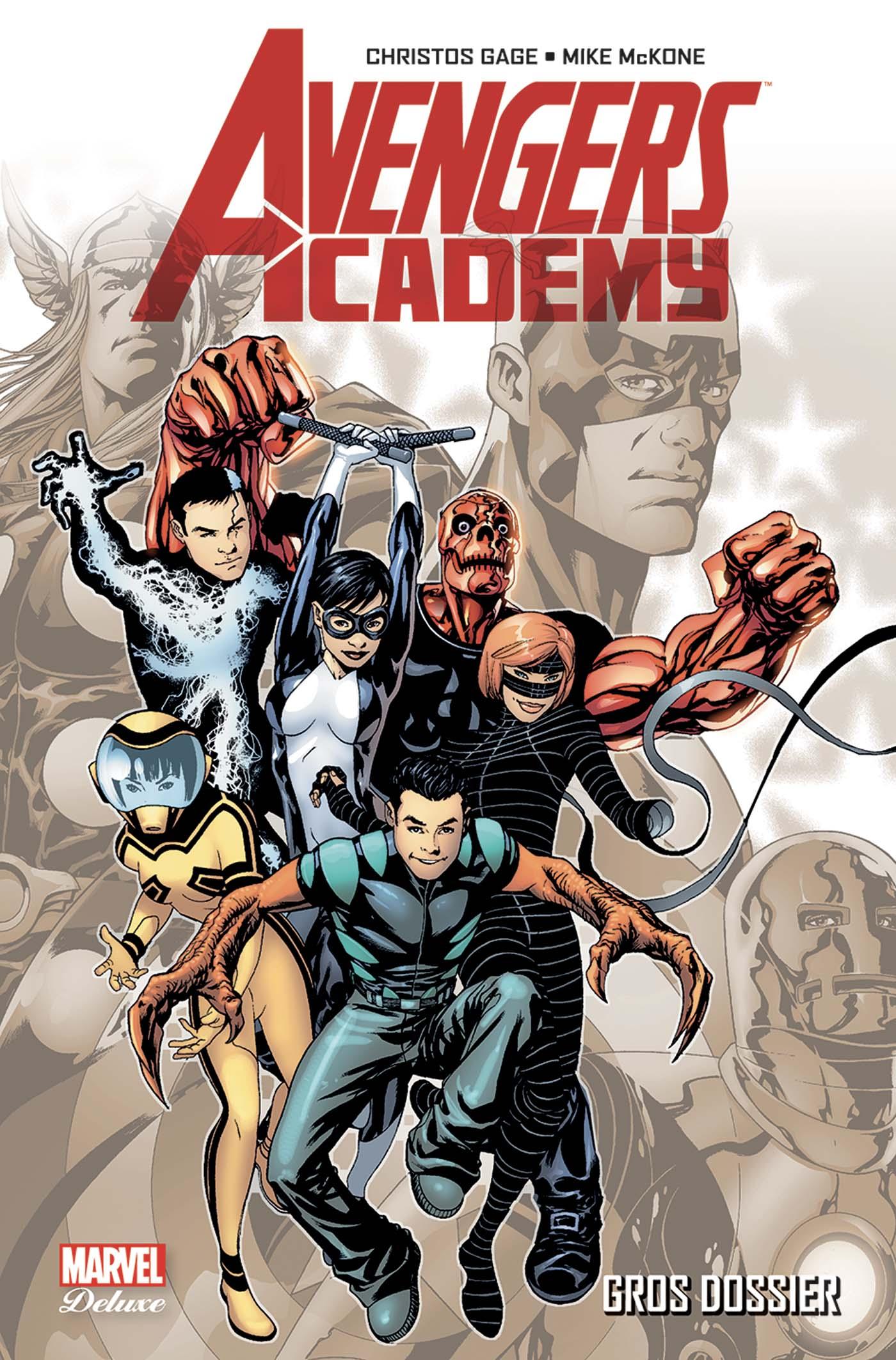 Avengers Academy 1 - GROS DOSSIER