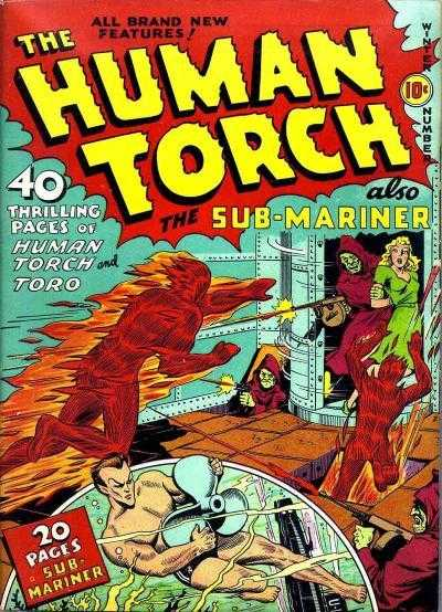 Human Torch 3 - #3
