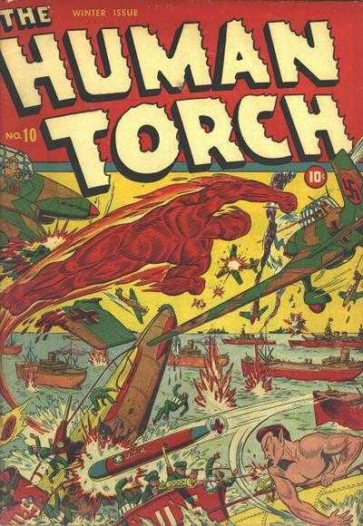 Human Torch 10 - #10