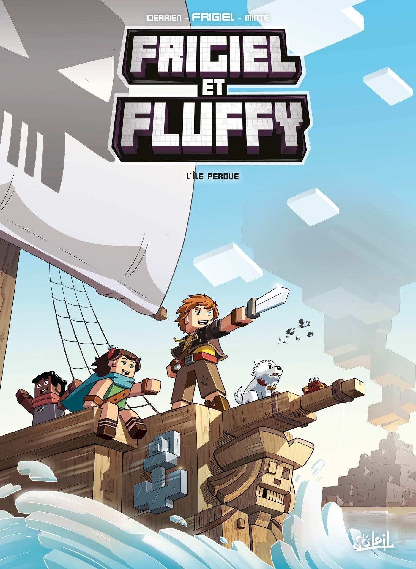 Frigiel et Fluffy 5 - L'île perdue