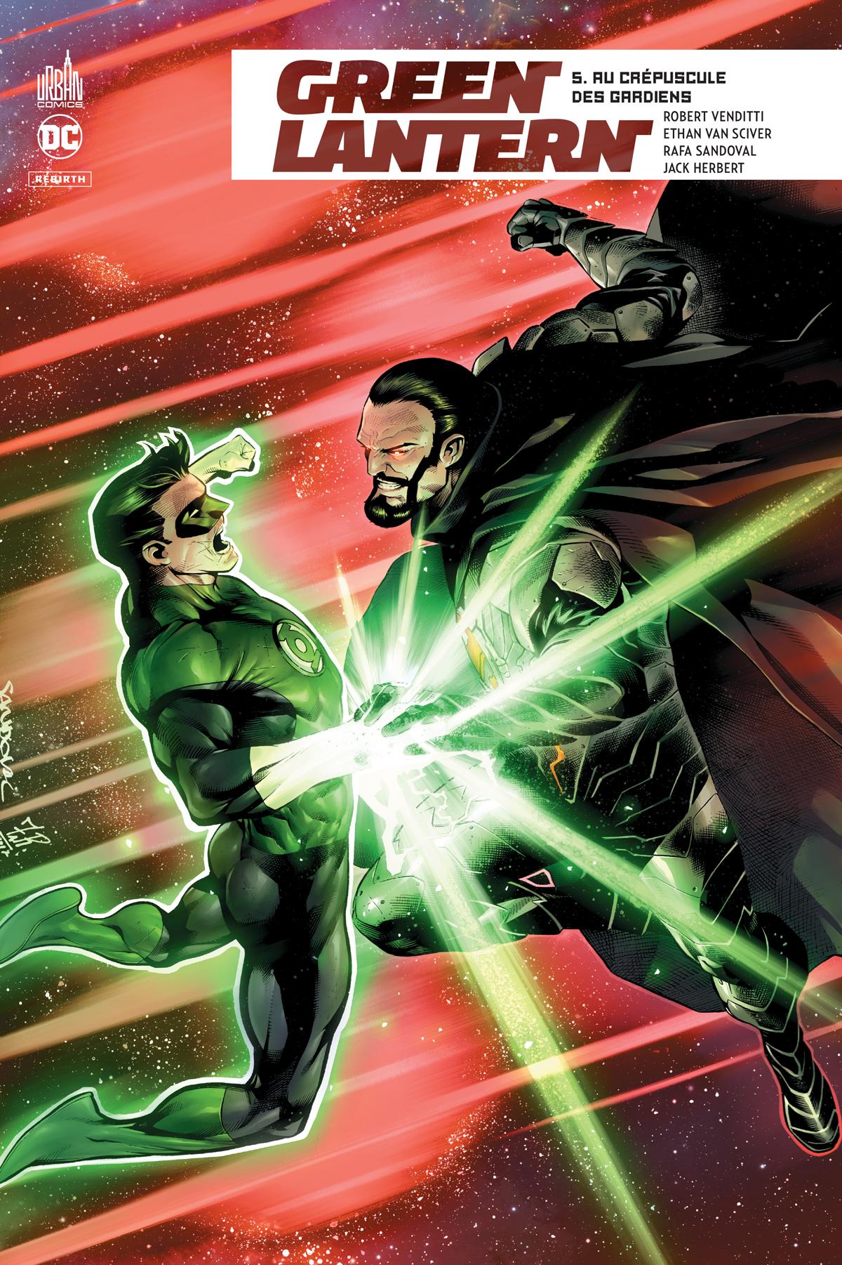 Green Lantern Rebirth 5 - Au crépuscule des Gardiens