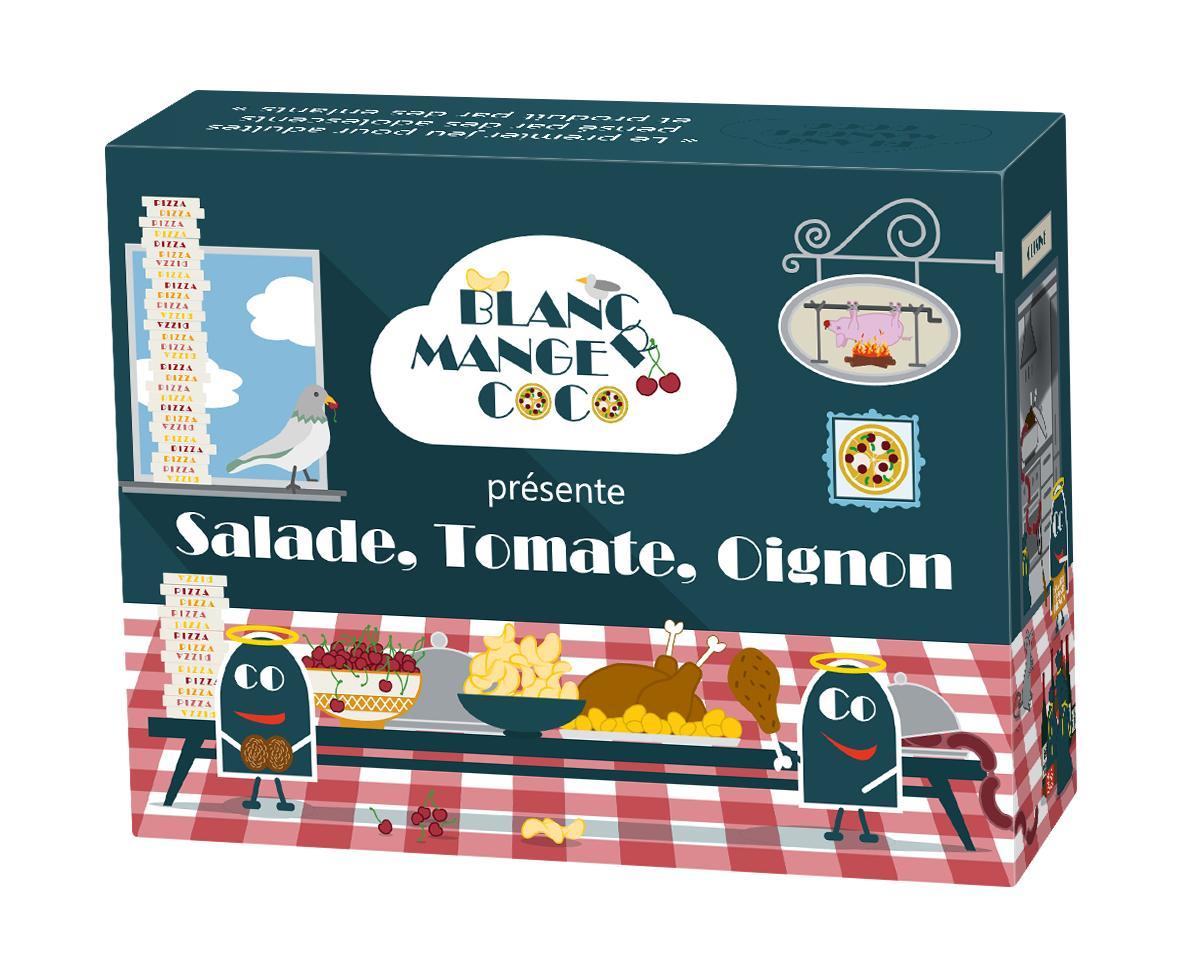 Blanc-manger Coco : salade, tomate, oignon 1