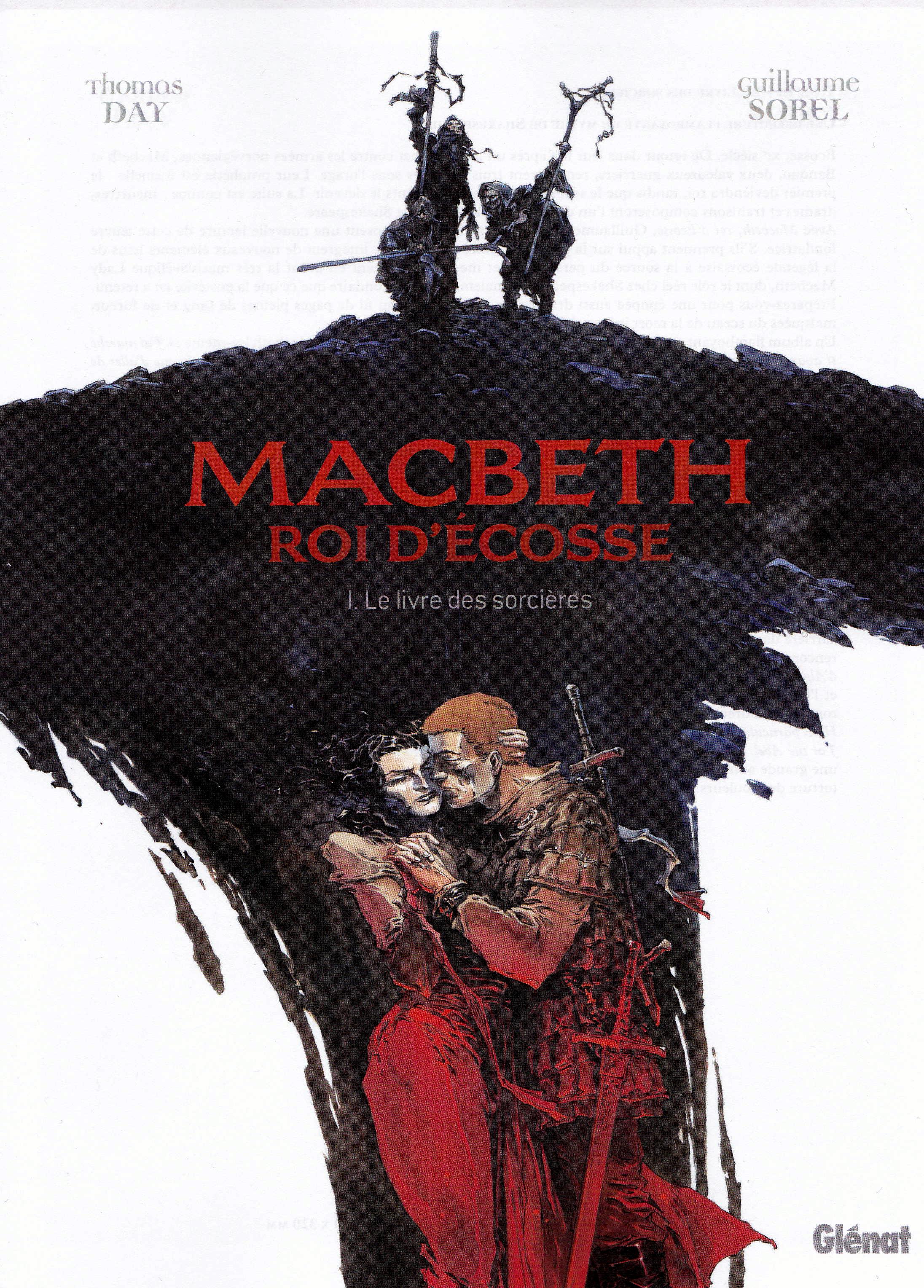 Macbeth, roi d'Écosse 1 - Le livre des sorcières