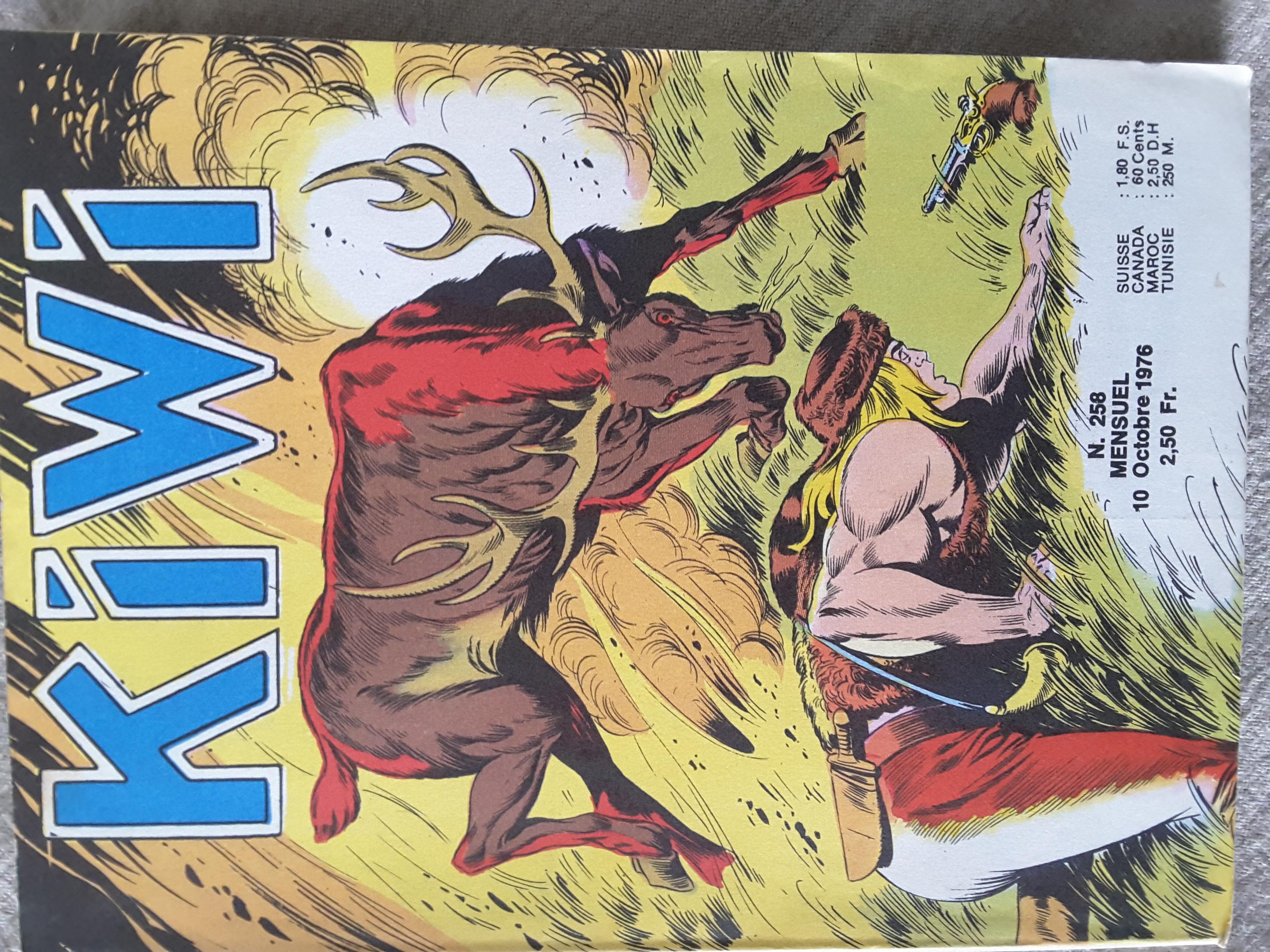 Kiwi 258 - Pas même une bête (1re partie))