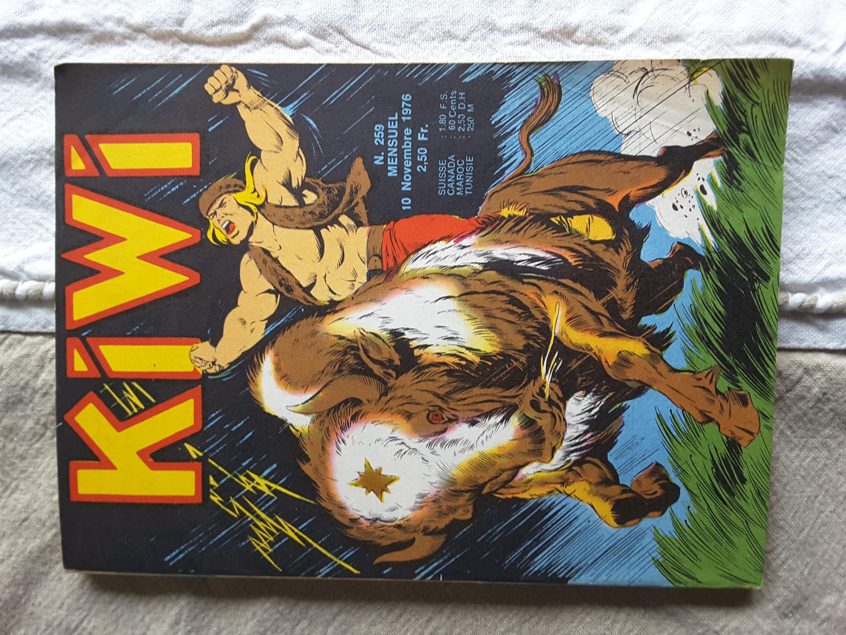 Kiwi 259 - Pas même une bête (2e partie)